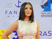 """يسرا ومنى زكى وغادة عادل وليلى علوى يحضرن عرض فيلم """"نورا تحلم"""" بمهرجان الجونة"""