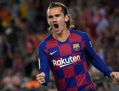 """برشلونة ضد مايوركا.. جريزمان يمنح البارسا التقدم مبكرا بعد 7 دقائق """"فيديو"""""""