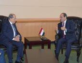 """السيسى يؤكد لـ""""ميشال عون"""" الاعتزاز بخصوصية العلاقات الوطيدة بين مصر ولبنان"""