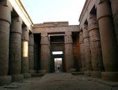 تعرف على معبد خونسو قبل العثور على تماثيله فى طريق الكباش