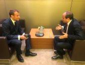"""صور.. قمة """"السيسي – ماكرون"""" بنيويورك تؤكد رسوخ العلاقات المصرية الفرنسية"""
