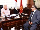 صور.. محافظ بورسعيد يستقبل رئيس مجلس إدارة شركة تاون جاس