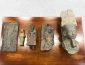 القبس: الجمارك الكويتية تضبط 5 قطع أثرية فرعونية مهربة