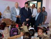 محافظ القليوبية يفتتح  4 مدارس جديدة بتكلفة 27 مليون جنيه