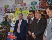 صور.. نائب محافظ الإسماعيلية يتابع انتظام العملية التعليمية بمدارس القرى