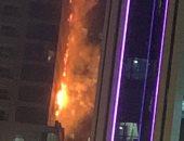 ندب الأدلة الجنائية لمعاينة حريق داخل شقة فى المعادى لحصر الخسائر