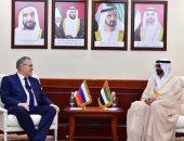 وزير شئون الدفاع الإماراتى يبحث تعزيز العلاقات مع سفير روسيا
