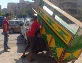 حملات لرفع الإشغالات بشوارع شرق مدينة نصر.. صور