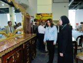 """افتتاح معرض """"صنع فى دمياط"""" بأرض المعارض فى مدينة نصر"""