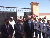 صور.. محافظ جنوب سيناء يتفقد عدد من المدارس بمدينة نوبيع