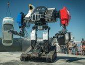 صور.. روبوت مقاتل عملاق يزن 12 طنًا يتم عرضه بـ50 ألف دولار للجمهور