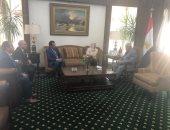 مكرم محمد أحمد يلتقى وكيل وزارة الاعلام الكويتية لبحث سبل التعاون