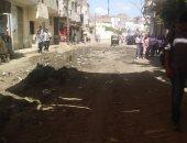 قارئ يشكو من انتشار مياه الصرف الصحى بشوارع قرية برمبال مركز مطوبس كفرالشيخ