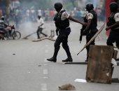 تجدد الصدامات بين الشرطة فى هايتى والمتظاهرون فى العاصمة بورتو أو برنس