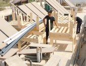 """وزارة البيئة تبدأ تنفيذ مبادرة زراعة الأسطح بمقرها فى """"بيت القاهرة"""""""