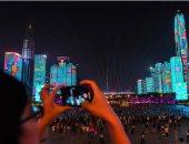 مدينة شنتشين الصينية تحتفل بالذكرى الـ 70 لتأسيس الجمهورية بمعرض ضوء