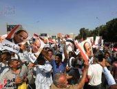 """إكسترا نيوز.. هتافات تحيا مصر و""""السيسي"""" تزلزل احتفالات المنصة"""