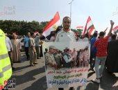 ملحمة وطنية أمام المنصة.. آلاف المواطنين يحتشدون فى حب مصر