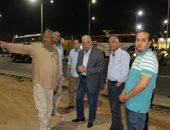 صور.. محافظ جنوب سيناء يتفقد موقف سيارات السرفيس بشرم الشيخ