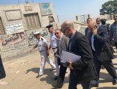 مدير أمن الجيزة يتفقد الحالة الأمنية بصحبة عدد من القيادات الأمنية.. صور