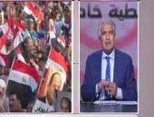 """وائل الإبراشى: تواجد المصريين فى الميادين """"ضربة قاضية"""" للإخوان"""