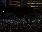صور.. محتجو هونج كونج يشجبون عنف الشرطة قبل انطلاق مظاهرات جديدة
