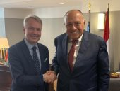 شكرى يبحث مع وزير خارجية فنلندا جذب مزيد من الاستثمارات الفنلندية لمصر