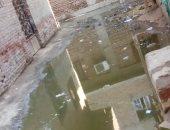 شكوى من انتشار مياه الصرف الصحى بقريه برنشت فى الجيزة