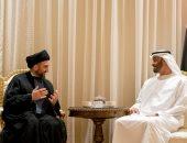 الشيخ محمد بن زايد يستقبل عمار الحكيم رئيس تيار الحكمة الوطنى العراقى