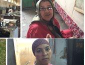 عاملات مصنع سجاد المحلة فى رسائل نارية للإخوان: ابعدوا عن مصر وكفاية خراب..صور