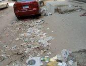 أهالى شارع جعفر بالهرم يشكون انتشار القمامة وعدم وجود عمال نظافة