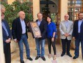 وليد جنبلاط يقيم حفل غداء في المختارة تكريماً لسفير مصر
