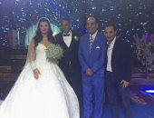 هانى رمزى يحتفل بحفل زفافه وسط الرياضيين