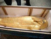 س وج.. كل ما تريد معرفته عن تابوت نجم عنخ الذهبى بعد عودته لمصر