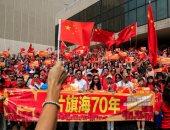 مظاهرات مؤيدة للصين فى هونج كونج