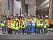 تلاميذ المدارس يزورون المتحف المصرى الكبير فى أول فعالياته ..صور