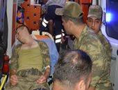 فيديو .. جنود أردوغان يفرون ويتركون مقتنايتهم فى تل أبيض