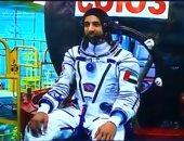 أول رائد فضاء إماراتى هزاع المنصوري يستعد لاستكمال تجاربه العلمية