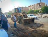 أهالى قرية اللشت بالعياط يشكون تعدى البعض على حرمة الطريق ويطالبون بتوسعته