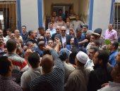 محافظ الغربية يتفقد الأعمال الإنشائية بمقر مجلس مدينة بسيون