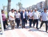 محافظ بورسعيد: الشارع السياحى الترفيهى يقام على أحدث أسلوب حضاري