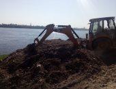"""رفع 480 طن قمامة ومخلفات صلبة بقرية """"السمطا"""" بسوهاج خلال 3 أيام"""