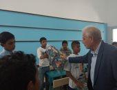 صور.. محافظ جنوب سيناء يتفقد استراحة الرئيس الراحل محمد أنور السادات ومدرسة