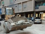 صور.. حملات تطوير للإنارة وزراعة الحدائق بشرق مدينة نصر