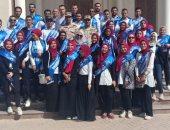 جامعة بنها تنظم زيارة وفد طلابى للعاصمة الإدارية الجديدة