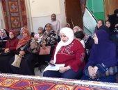 """""""القومى للمرأة"""" بالإسكندرية يواصل حملة طرق الأبواب بشعار بلدى أمنة"""