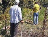 صور.. رجال مدينة إسنا يتسلمون قطعة أرض تبرع من الأهالى لإقامة مشروع صرف صحى