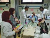 صور.. مستشفى الأقصر تنظم إحتفالية اليوم العالمى للقلب وتوزع هدايا على المرضى