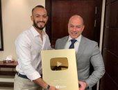 """""""سينرجى"""" تحصد جائزة يوتيوب الذهبية بعد تخطيها حاجز المليون مشترك"""