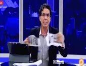 """شاهد.. """"اليوم السابع"""" يصيب محمد ناصر بهستيريا على الهواء"""